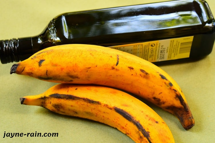 ripe fried plantain
