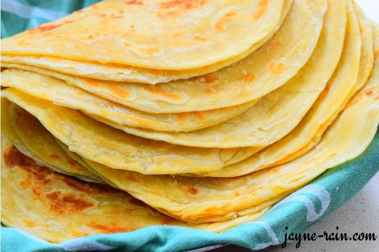 East African Chapati Recipe Jayne Rain