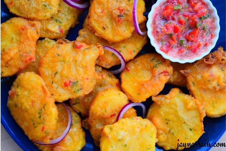 potato bhajia